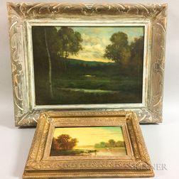 Four Framed Oil Paintings