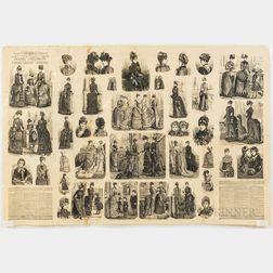 Series of Fashion Engravings