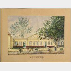 American School, 19th Century  American Club House Braia Grande.