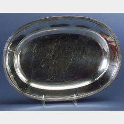 Stone Associates Sterling Platter