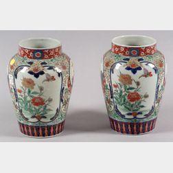 Pair of Porcelain Jars