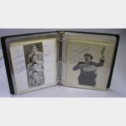 Collection of Approximately Fifty-seven Entertainer Autographed Photographs