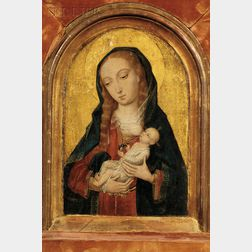 Flemish School, 16th Century Style      Madonna and Child