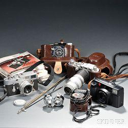 Three Leica Cameras
