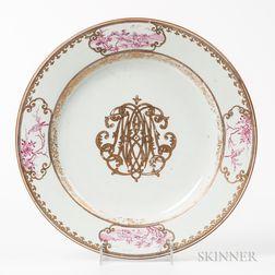 Export Porcelain Ch'ien Lung Dish