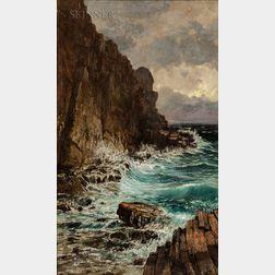 William Preston Phelps (American, 1848-1923)      Coast of Maine