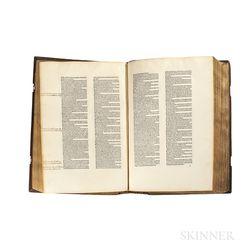 Monte, Petrus de (c. 1400-1457), ed. Comes de Alvarotis. Repertorium utriusque iuris.