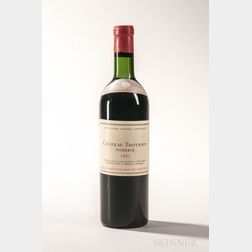 Chateau Trotanoy 1961, 1 bottle