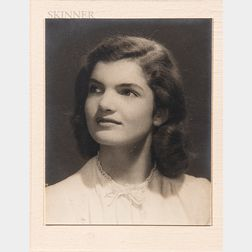 Burton Deford Dechert Jr. (American, 1906-1983)      Thirteen Images of Jacqueline Bouvier (Kennedy Onassis)