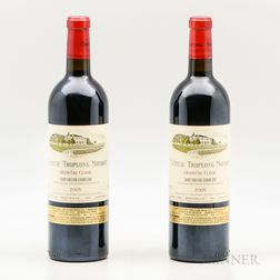 Chateau Troplong Mondot 2005, 2 bottles