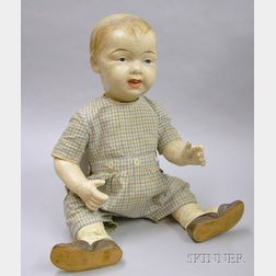 Life-size Composition Character Baby Boy Doll