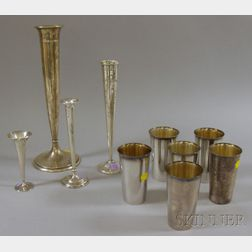 Ten Sterling Silver Table and Serving Items