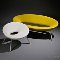 Philippe Starck Ploof Sofa and Chair