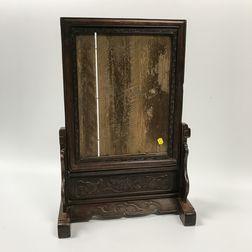 Wood Table Screen