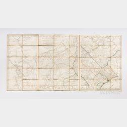 Pennsylvania. William Scull (1739-1784) La Pensilvanie en Trois Feuilles Traduite des Meilleures Cartes Anglaises. A Map of Pennsylvani