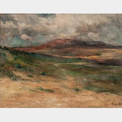 Albert Lorey Groll (American, 1866-1952)      Western Landscape