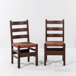 Two Stickley Side Chairs