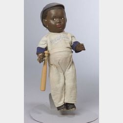 Composition Jackie Robinson Doll
