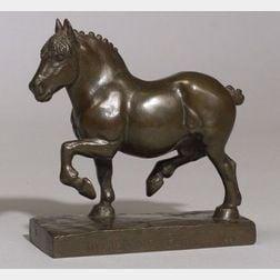 Madeleine Park (American, 1891-1960)  Percheron