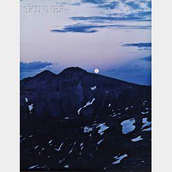 James Clinton Bones (American, b.1943)      Moonrise over Indian Ridge, San Juan Mountains, Colorado.