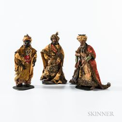 Three Wise Men Creche Figures