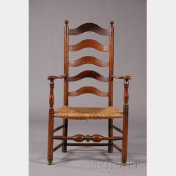 Turned Ladder-back Armchair