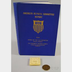 1936 Report of the American Olympic Committee