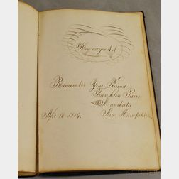 1863 Henry S. Sawyer Autograph Book