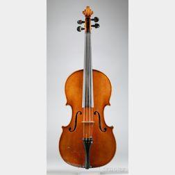 Modern German Viola, Theo Glaesel, Markneukirchen, 1975
