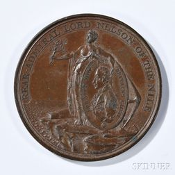 Alexander Davisson's Medal for the Battle of the Nile