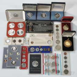 Group of Assorted U.S. Mint Sets and Commemoratives