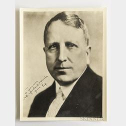 Hearst, William Randolph (1863-1951) Large Signed Photograph.