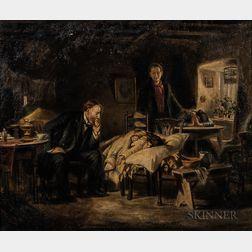 Joseph Malachy Kavanagh (Irish, 1856-1918)      Interior Scene