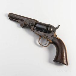 Two Colt Model 1849 Pocket Colt Revolvers