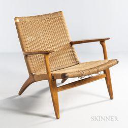 Hans J. Wegner (Danish, 1914-2007) for Carl Hansen Model CH 25 Easy Chair