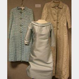 Twenty-five 1950s-1970s Women's Dresses, Suits, and Coat, Etc.