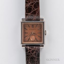 Patek Philippe Square Dial Manual-wind Wristwatch