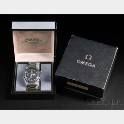 "Omega Speedmaster ""Professional"" Stainless Steel Chronograph Wristwatch"