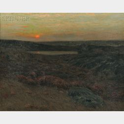 Charles Warren Eaton (American, 1857-1937)      Sunset in New England
