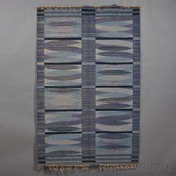 Hand-woven Flatweave Carpet