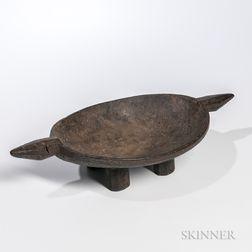 Wood Food Platter