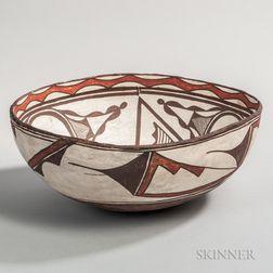 Zuni Dough Bowl