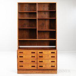 Poul Hundevad Rosewood-veneered Cabinet