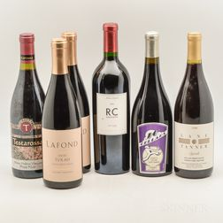 Mixed California Reds, 6 bottles