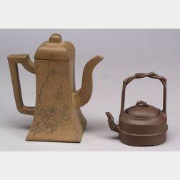 Two Yi Hsing Teapots