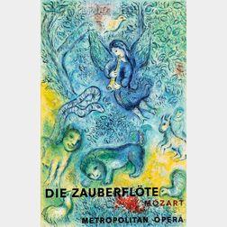 After Marc Chagall (Russian/French, 1887-1985)      Die Zauberflöte