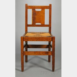 H-back Side Chair Attributed to Gustav Stickley