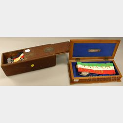 Group of Ship Christening Commemorative Items