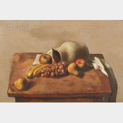 Robert Brackman (American, 1898-1980)      Still-Life #12 in Gray