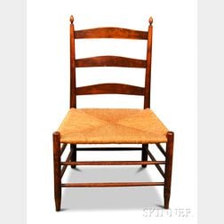 """Shaker """"4"""" Production Maple Chair"""